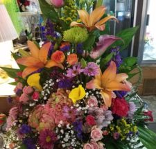 Wedding flowers and sympathy flowers by local florist in Abilene